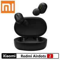 Für Xiaomi Bluetooth 5.0 Redmi Airdots 2 TWS Wireless Headset Stereo Bass & Mic
