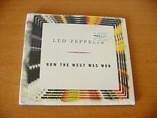 "LED ZEPPELIN ""How The West Was Won Sampler"" SEALED Promo Atlantic PRCD 301132"