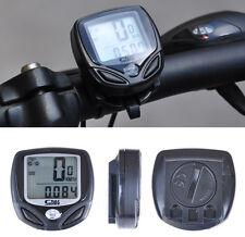 Quality Mini Wireless LCD Digital Bicycle Bike Computer Speedometer Odometer
