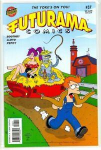 FUTURAMA #37 Simpsons Matt Groening (2007) Bongo Comics NM+ (9.6)