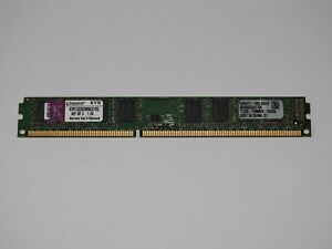 Kingston 4GB  RAM Arbeitsspeicher 1333MHz 10600U DDR3 KVR1333D3N9K3/12G