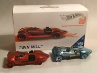 2019 Hot Wheels Lot of 2 Twin Mill ID Cars HW Greats Limited Production VHTF