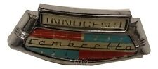 LAMBRETTA LI SERIES 2 AND 3 CHROME HORNCAST BADGE INNOCENTI NEW HORNCASTING