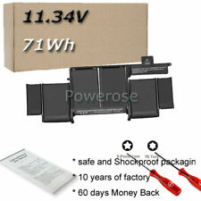 """Replace A1493 Battery For Macbook Pro 13""""13 inch Retina A1502 Late 2013 Mid 2014"""