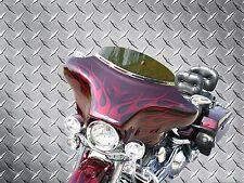 Headlight Batwing Fairing with Radio/CD + Quad (4) Speakers - Harley Softail