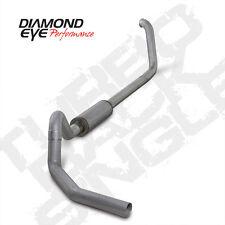"Diamond Eye 4"" Aluminized Turbo Back Exhaust 00-03 Ford Excursion 7.3L Diesel"