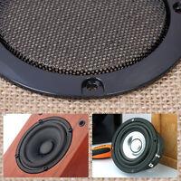2stk 3inch HIFI Lautsprecher-Schutzgitter autsprecher abdeckung Gitter - schwarz