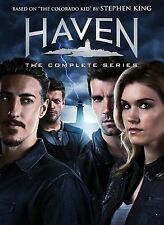 Haven: The Complete Series Seasons 1-6 (DVD, 2016, 24-Disc Box Set) Sealed F&S