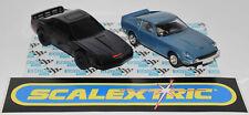 SCALEXTRIC C100 PONTIAC KNIGHT RIDER & C101 DATSUN 240Z - A Nice Pair ! LOOK !!!