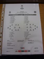10/03/2016 Colour Teamsheet: Liverpool v Manchester United [Europa League] (Tact