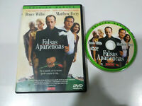 Falsas Apariencias Bruce Willis Matthew Perry - DVD Español - 1T