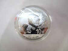 *.999 FINE SILVER PROOF PANDA 10 COIN YEAR 2016 WITH CERTIFICATE OF AUTHENTICITY