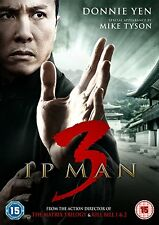 IP MAN 3 di Wilson Yip con Donnie Yen Mike Tyson DVD NEW in Inglese .cp