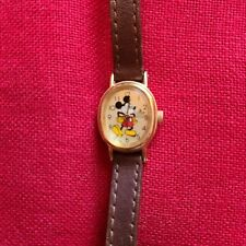 Vintage Disney Lorus Classic Mickey Mouse Watch, Japan Movement ~ NEW BATTERY