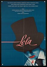 "LOLA 1983 beautiful 23""x33"" Czech poster Rainer Werner Fassbinder filmartgallery"