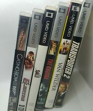 UMD Movie Lot of 6 (Sony PlayStation PSP) The Grudge Saw Transporter 2 007