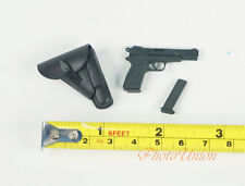 Dragon 1/6 Figur WW2 9mm Browning Pistole 640 B Holster Pistol Handgun 70652 K