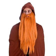 ae89c4cd9cd Adult Deluxe Long Wizard Beard Scottish Gandalf Dumbledore Merlin Fancy  Dress