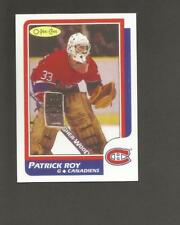 1986-87 OPC O Pee Chee Patrick Roy #53 RC Rookie Card REPRINT Montreal Canadians