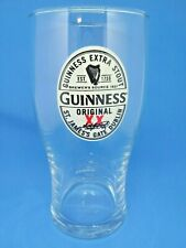 More details for 2 guinness irish extra stout pub beer home man cave collectors pint glass gift