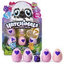 Hatchimals CollEggtibles Season 2 - 4-Pack + Bonus (Styles & Colors May Vary) by