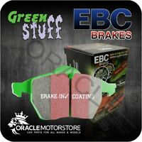 NEW EBC GREENSTUFF REAR BRAKE PADS SET PERFORMANCE PADS OE QUALITY - DP21907