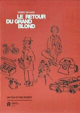 Le Retour Du Grand Blond (Pierre Richard, Mireille Darc, Jean Rochefort) - DVD