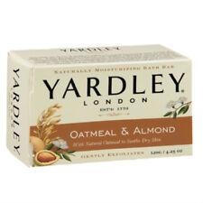 YARDLEY OATMEAL & ALMOND SOAP BAR EXFOLIATE MOISTURISE SHOWER BATH SKIN 120g