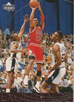 1996-97 Upper Deck Excellence Michael Jordon Chicago Bulls #165.