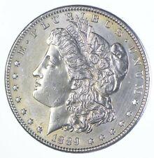 Unc Uncirculated 1889 Morgan Silver Dollar - $1 Mint State MS BU *423