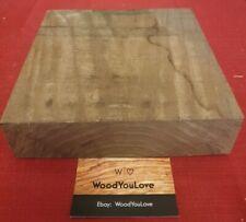 🍁 Hardwood Walnut Off Cut Block L 20.6 cm x W 20 cm x D 4.6 cm  (2124 W6)