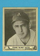 1940 Play Ball Baseball Sinlge #24 Frank Hayes (EX+)