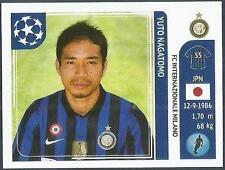 PANINI UEFA CHAMPIONS LEAGUE 2011-12- #080-INTER MILAN-YUTO NAGATOMO