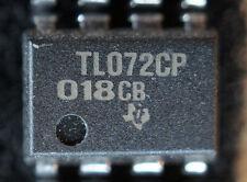 NOS TI TL072CP qty 10  dip8   PULLS        Ship in USA tomorrow!