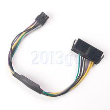 24broches 8p ATX Câble pour Dell OptiPlex 3020 7020 9020 T1700 Q75 65 Neuf HG