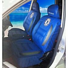 Chelsea FC Premium Limited Edition Faux Leather Car Seat Covers (x 2) Exclusive.