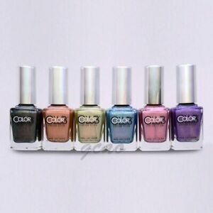 Color Club Halo Hues Holographic 2013 Nail Polish Lacquer Set of 6 (Pick One)