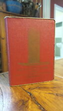 Vintage Advertising BOOK BANK United Insurance Co of America, Chicago, Red
