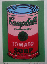 Fine Pop Art Limited edt. silkscreen serigraph – Campbell's, signed Andy Warhol