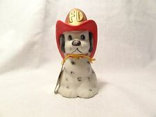 "Jasco ""Critter Bell"" Fire Department Dalmatian Porcelain Bell"
