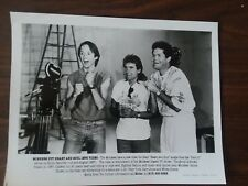 """Monkees, Tork, Dolenz and Davy Jones """"Heart and Soul"""" promo Rhino 1987 8x10"""