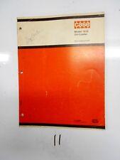 1973 J I Case Parts Manual 1816 Uni Loader Catalog Noa 1228