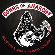 Songs of Anarchy [CD] Soundtrack Music from Sons of Anarchy Seasons 1+2+3+4 NEU