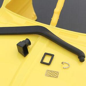 For 1/10 RC Crawler Car Tamiya TF2 Pajero Hilux Durable Rubber Safari Snorkel