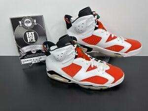 FAT JOE Nike Air Jordan Retro 6 Gatorade PROMO Orange Suede DEADSTOCK Size 12