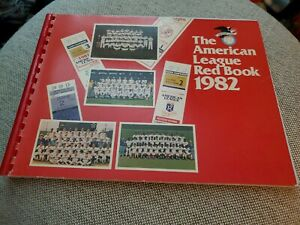 1982 AMERICAN LEAGUE RED BOOK