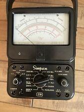 Simpson 270 Multimeter