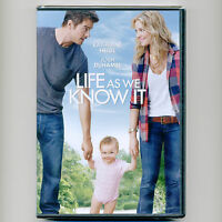 Life As We Know It 2010 PG-13 movie, new DVD Katherine Heigl, Josh Duhamel, baby