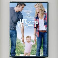 Life As We Know It 2010 PG-13 movie, new DVD Katherine Heigl, Josh Duhamel, baby
