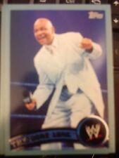 2011 Topps WWE Wrestling BLUE #77 Theodore Long #d 1884/2011